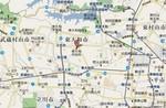 東京・東大和市の周辺地図