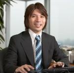藤田晋氏の顔写真