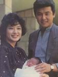 三浦友和と山口百恵さんの顔写真