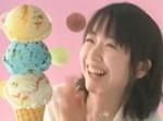 31アイスクリームCMでの黒川智花 画像