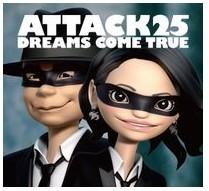 ATTACK25 (初回限定盤  CD + DVD)は3365円!